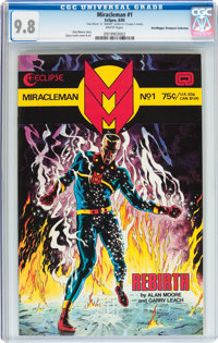Miracleman #1 Don/Maggie Thompson Collection pedigree (Eclipse, 1985) CGC NM/MT 9.8 White pages