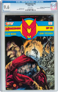 Modern Age (1980-Present):Superhero, Miracleman #15 Don/Maggie Thompson Collection pedigree (Eclipse,1988) CGC NM+ 9.6 White pages....