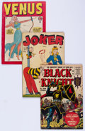 Golden Age (1938-1955):Miscellaneous, Timely/Atlas Golden Age Comics Group (Timely, 1940s-'50s) Condition: Average GD.... (Total: 14 Comic Books)