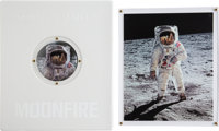 Moonfire: The Epic Journey of Apollo 11 Limited Edition Book in Original Case with Signed and Numbered