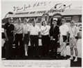 Autographs:Celebrities, NASA Astronaut Groups Two and Three: Hawaii Training Photo Signedby Seven. ...