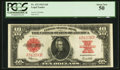 Large Size:Legal Tender Notes, Fr. 123 $10 1923 Legal Tender PCGS About New 50.. ...
