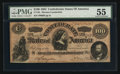 "Confederate Notes:1864 Issues, CT65 ""Havana"" Counterfeit $100 1864.. ..."