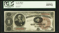 Large Size:Treasury Notes, Fr. 347 $1 1890 Treasury Note PCGS Extremely Fine 40PPQ.. ...