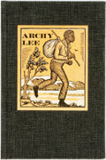 Books:Americana & American History, [Book Club of California]. Rudolph M. Lapp. Mallette Dean and JamesE. Beard, designers/printers. Archy Lee. LIMIT...