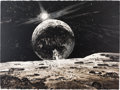"Explorers:Space Exploration, Robert McCall Signed Limited Edition ""Lunar Landing"" Print, One ofTen Artist's Proofs, 1973. ..."