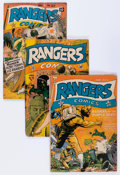 Golden Age (1938-1955):War, Rangers Comics Group (Fiction House, 1943-51) Condition: AverageVG.... (Total: 13 Comic Books)