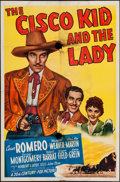 """Movie Posters:Western, The Cisco Kid and the Lady (20th Century Fox, 1939). One Sheet (27"""" X 41""""). Western.. ..."""