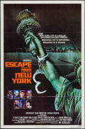 "Movie Posters:Science Fiction, Escape from New York (Avco Embassy, 1981). One Sheet (27"" X 41"")Advance. Science Fiction.. ..."