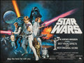 "Movie Posters:Science Fiction, Star Wars (20th Century Fox, 1977). British Quad (30"" X 40"").Science Fiction.. ..."