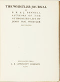 Books:Art & Architecture, E.R. and J. Pennell. The Whistler Journal. Philadelphia: J.B. Lippincott, 1921. . ...