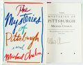 Books:Literature 1900-up, Michael Chabon. SIGNED. The Mysteries of Pittsburgh. NewYork: William Morrow, [1988]. First edition. Signed by th...