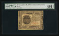 Colonial Notes:Continental Congress Issues, Continental Currency November 29, 1775 $7 PMG Choice Uncirculated64 EPQ.. ...