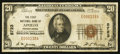 National Bank Notes:Pennsylvania, Apollo, PA - $20 1929 Ty. 1 The First NB Ch. # 5723. ...