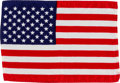 Explorers:Space Exploration, Apollo 12 Flown American Flag Originally from the Personal Collection of NASA Protocol Officer Edward S. Barker....