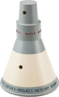"Explorers:Space Exploration, Mercury McDonnell ""Project Mercury Manned Satellite Capsule""Contractor's Model...."