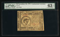 Colonial Notes:Continental Congress Issues, Continental Currency November 29, 1775 $8 PMG Choice Uncirculated63 EPQ.. ...