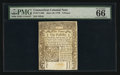Colonial Notes:Connecticut, Connecticut June 19, 1776 9d PMG Gem Uncirculated 66 EPQ.. ...