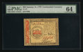 Colonial Notes:Continental Congress Issues, Continental Currency January 14, 1779 $50 PMG Choice Uncirculated64.. ...