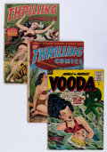 Golden Age (1938-1955):Miscellaneous, Comic Books - Assorted Golden Age Jungle Adventure Group (Various Publishers, 1940s-'50s) Condition: Average GD.... (Total: 8 Comic Books)