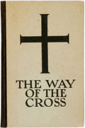 Books:Religion & Theology, Alfeo Faggi and Padraic Colum. SIGNED. The Way of the Cross. Chicago: Ralph Fletcher Seymour, [1926]. Signed by bo...