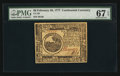 Colonial Notes:Continental Congress Issues, Continental Currency February 26, 1777 $6 PMG Superb Gem Unc 67EPQ.. ...