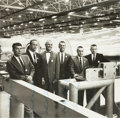 Explorers:Space Exploration, Mercury Seven Astronauts: Early Photo Signed by Six (MissingSlayton) in Framed Display. ...