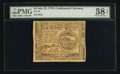 Colonial Notes:Continental Congress Issues, Continental Currency July 22, 1776 $4 PMG Choice About Unc 58 EPQ.....