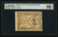 Colonial Notes:Continental Congress Issues, Continental Currency May 9, 1776 $3 PMG Gem Uncirculated 66 EPQ.....