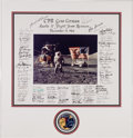 Explorers:Space Exploration, Apollo 17 Fifteenth Anniversary Flight Team Reunion Presentation Signed by the Crew, Charlie Duke, and Ninety+ Others, Origina...