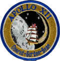 Explorers:Space Exploration, Apollo 12 Embroidered Mission Crew Patch Originally from thePersonal Collection of Mission Support Crew Member Paul Weitz,wi...