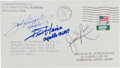 Autographs:Celebrities, Apollo 13 Crew-Signed Coast Guard Academy-Related Cover....