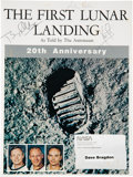 Explorers:Space Exploration, Apollo 11 Crew-Signed Twentieth Anniversary NASA EP-73 Book,The First Lunar Landing, As Told by The Ast...