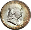 Franklin Half Dollars, 1952-S 50C MS67 Full Bell Lines PCGS. CAC....