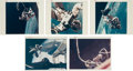 "Explorers:Space Exploration, Gemini EVAs: Five Original NASA ""Red Number"" Color Photos, Fourfrom Gemini 4...."