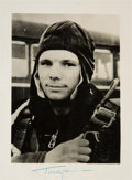 Autographs:Celebrities, Yuri Gagarin Signed Photo....