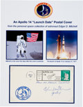 Explorers:Space Exploration, Edgar Mitchell Signed Apollo 14 Launch Cover Originally from HisPersonal Collection, Signed and Certified. ...