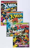 Bronze Age (1970-1979):Superhero, X-Men Group (Marvel, 1975-79) Condition: Average VF.... (Total: 18Comic Books)