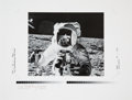 Explorers:Space Exploration, Charles Conrad Signed Large Limited Edition Lunar Surface Photo,#169/1000....