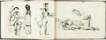 Books:Periodicals, [Bound Periodical]. Series of Comical Illustrations from JournalPour Rire. 1848. Illustrations have been replicated...