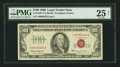 Small Size:Legal Tender Notes, Fr. 1550* $100 1966 Legal Tender Star Note. PMG Very Fine 25 Net.. ...
