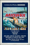 "Movie Posters:War, Midway (Universal, 1976). One Sheet (27"" X 41"") Sensurround Style.War.. ..."