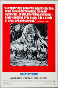 """Soldier Blue & Other Lot (Avco Embassy, 1970). One Sheets (2) (27"""" X 41"""") Style A & Regular. Western..."""