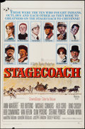 "Movie Posters:Western, Stagecoach (20th Century Fox, 1966). One Sheet (27"" X 41""). Western.. ..."