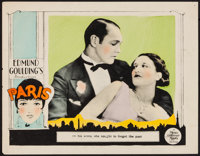 "Paris (MGM, 1926). Lobby Card (11"" X 14""). Drama"