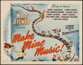 "Movie Posters:Animation, Make Mine Music (RKO, 1946). Half Sheet (22"" X 28"") Style B.Animation.. ..."