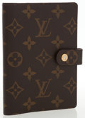 Luxury Accessories:Accessories, Louis Vuitton Classic Monogram Canvas Small Ring Agenda Cover . ...