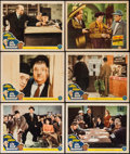 """Movie Posters:Comedy, Air Raid Wardens & Other Lot (MGM, 1943). Lobby Cards (6) (11""""X 14""""). Comedy.. ... (Total: 6 Items)"""