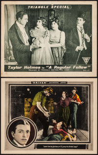 """Driven & Other Lot (Universal, 1922). Lobby Cards (2) (11"""" X 14""""). Drama. ... (Total: 2 Items)"""