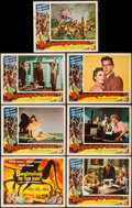 "Movie Posters:Science Fiction, Beginning of the End (Republic, 1957). Title Lobby Card & LobbyCards (6) (11"" X 14""). Science Fiction.. ... (Total: 7 Items)"